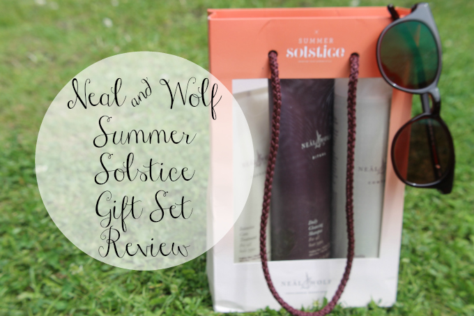 Cocktails in Teacups Beauty Blog Neal & Wolf Summer Solstice Gift Set Review