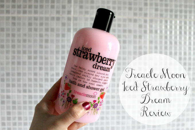 Cocktails in Teacups Beauty Blogger Iced Strawberry dream treacle Moon review
