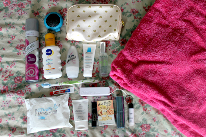 Cocktails in Teacups Packing for a Festival Fashion Blogger Toiletry Bag Essentials