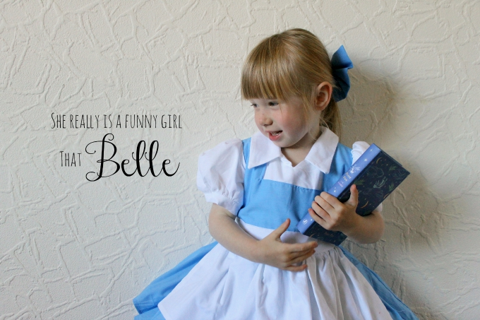 Belle Cosplay Toddler blog
