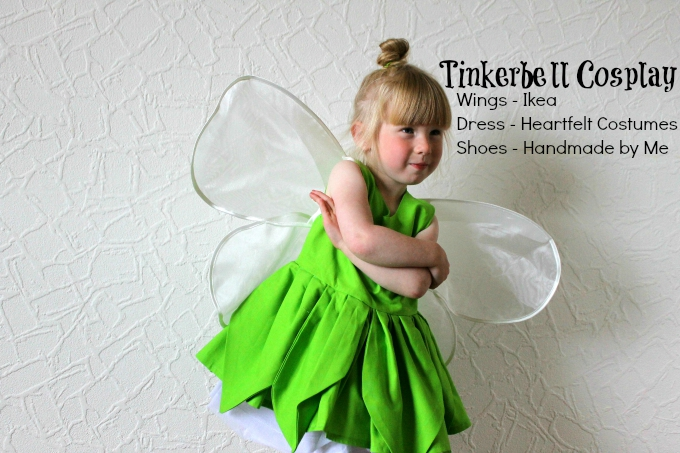 Stinkerbell Tink Cosplay Disney Little Girl blog