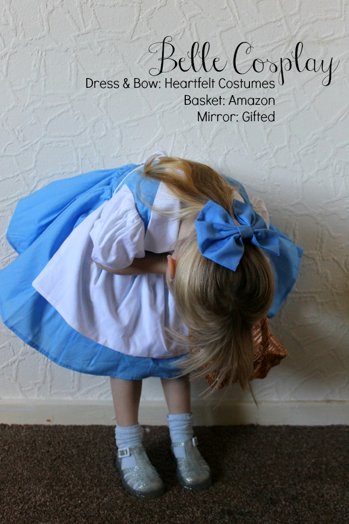 Toddler Belle Beauty and the Beast Cosplay