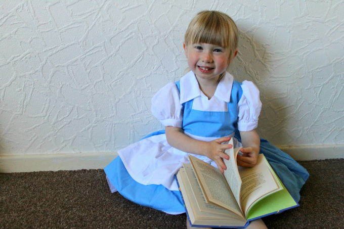 Toddler Dressing Up Cosplay Belle Heartfelt Costumes blog