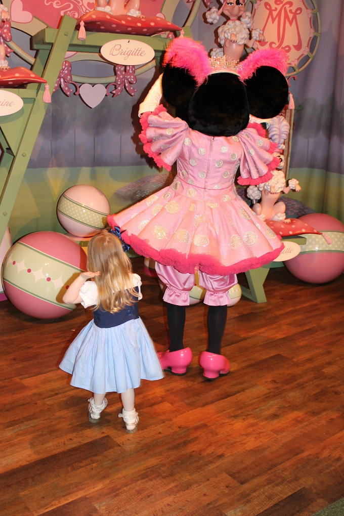 Walt Disney World April 2015, Day 8 - Hollywood Studios & Magic Kingdom Dancing with Minnie