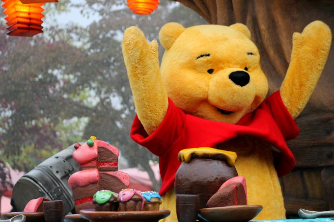 Cocktails in Teacups Disney Life Parenting Travel Blog Disneyland Paris Disney Magic on Parade Winnie the Pooh