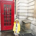 Could this be anymore British? Rain red telephone box yellowhellip
