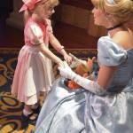 Little Perla visiting Cinderella    cinderellasaturday wdwmemories disneymemorieshellip