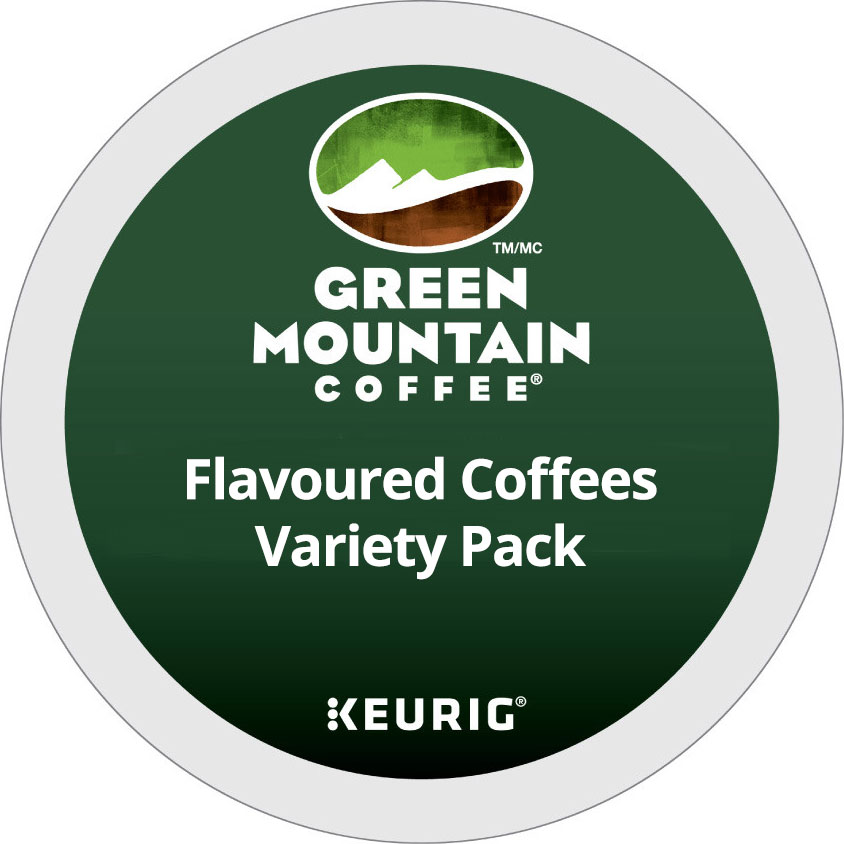 Flavoured Coffees Variety Pack From Green Mountain