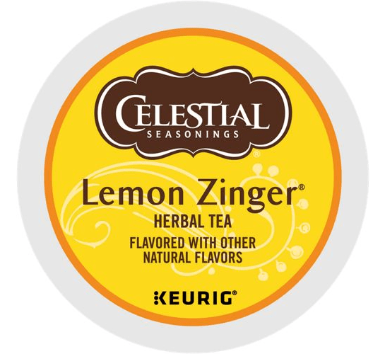 Lemon Zinger Tea From Celestial Seasonings