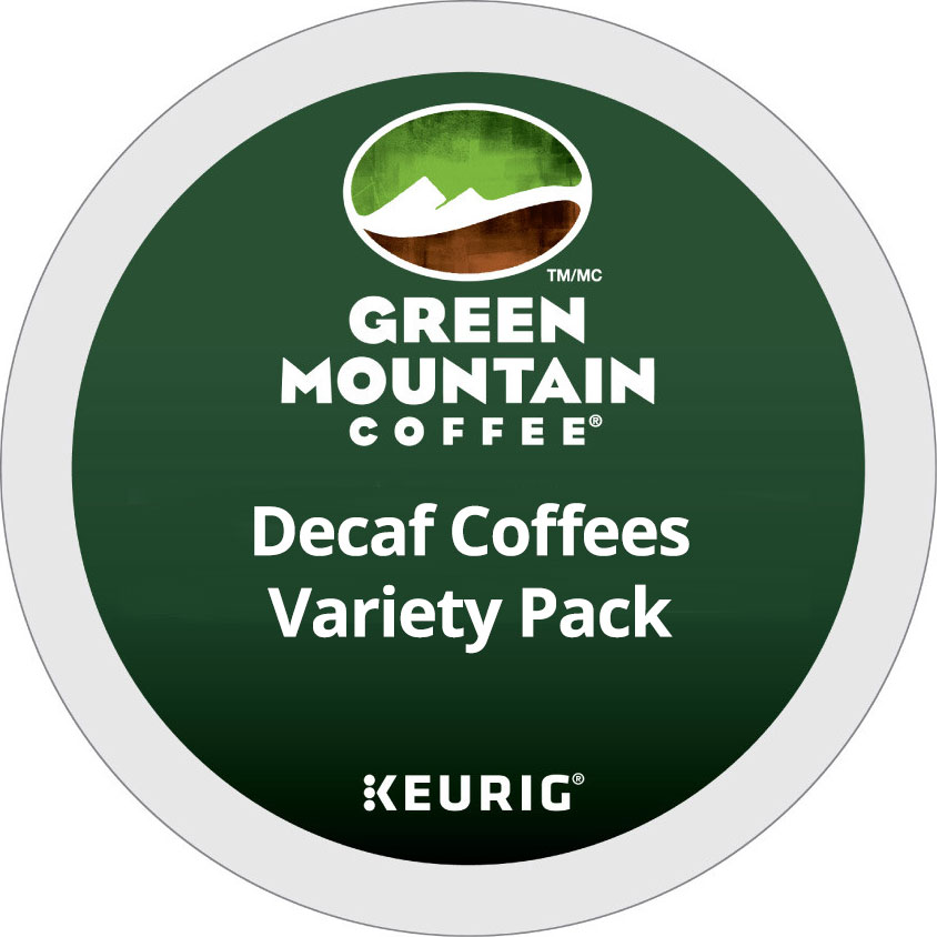 Decaf Coffees Variety Pack From Green Mountain