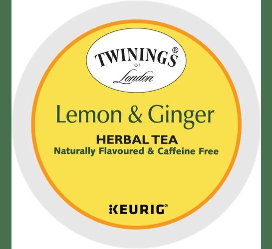 Lemon & Ginger Herbal Tea From Twinings