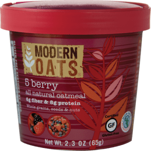 Modern Oats 5 berry package