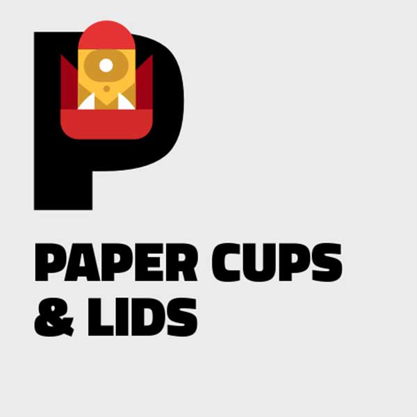 Notegraphy-styled Paper Cups and Lids category image