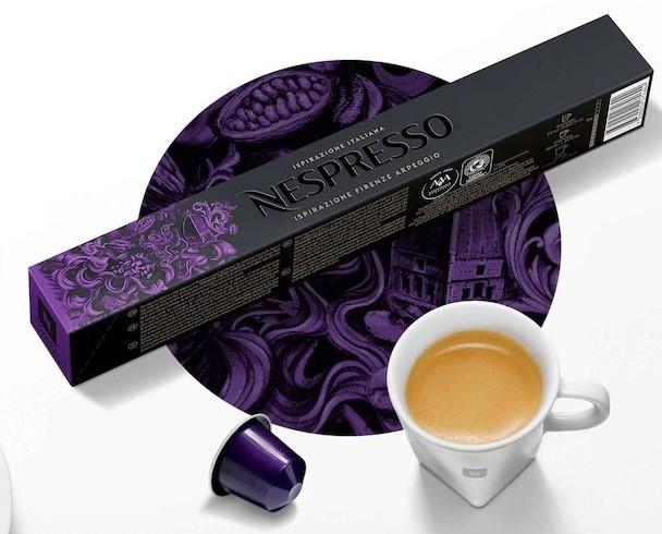 Ispirazione Firenze Arpeggio Capsules From Nespresso