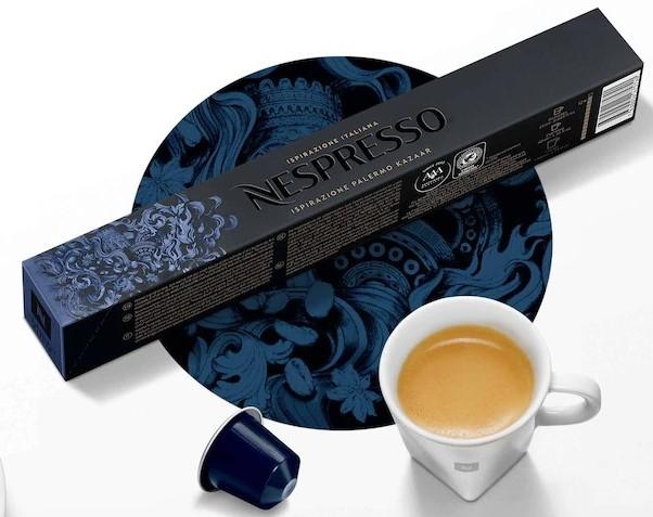 Ispirazione Palermo Kazaar Capsules From Nespresso