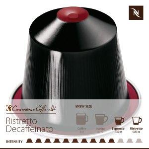 RISTRETTO DECAFFEINATO capsule lid from Nespresso
