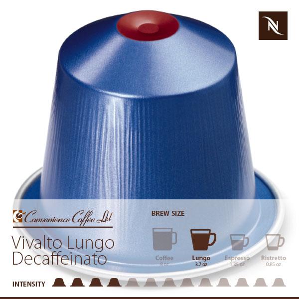 VIVALTO LUNGO DECAFFEINATO Capsules From Nespresso