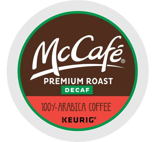 Premium Roast Decaf From McCafe