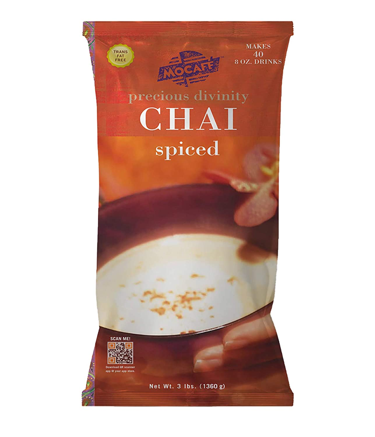 Precious Divinity Spiced Chai Powder From Mocafé