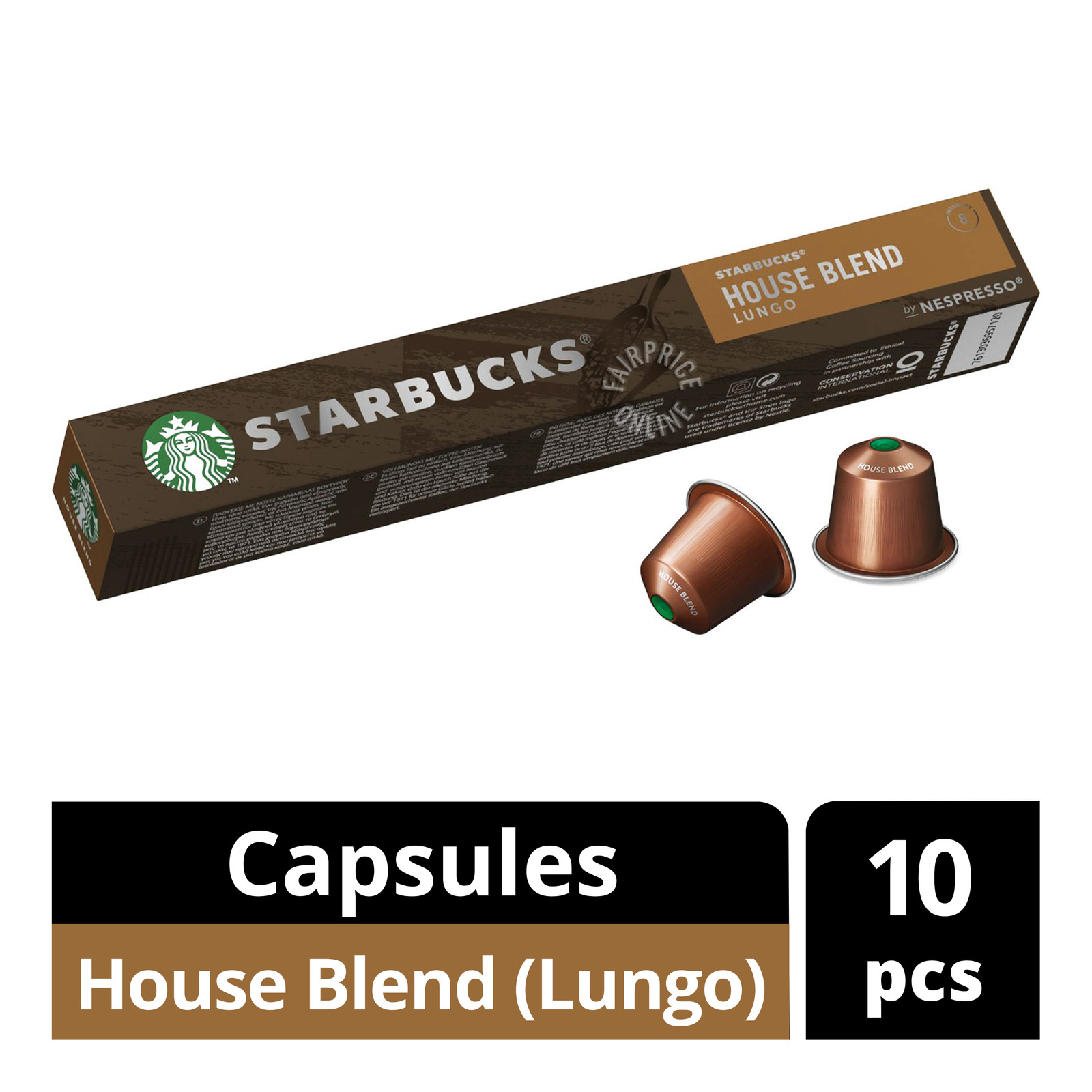 STARBUCK'S House Blend From NESPRESSO