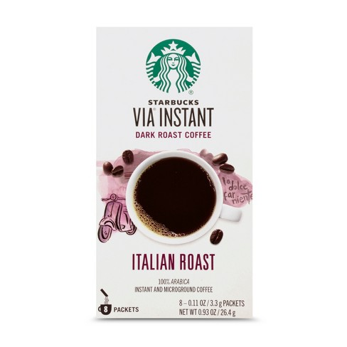 STARBUCKS Italian Roast Instant Coffee