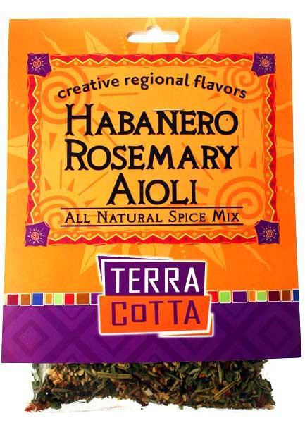 Habanero Rosemary Aioli – TERRA COTTA