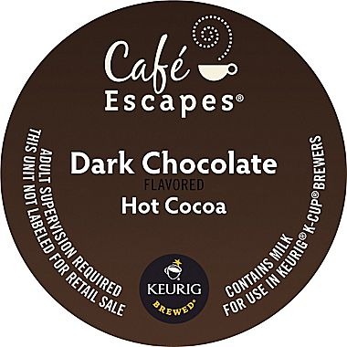 Dark Chocolate Cocoa From Cafe Escapes