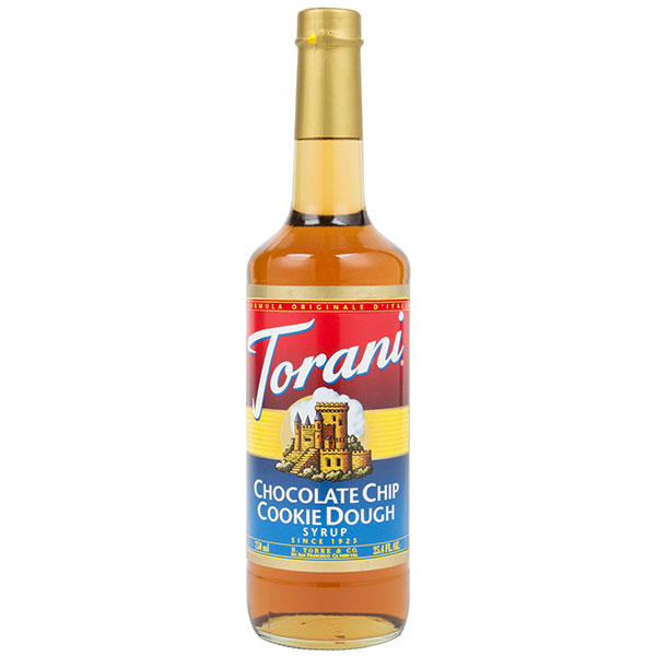 Chocolate Chip Cookie Dough Syrup From Torani (25.4 Oz 750 Ml)