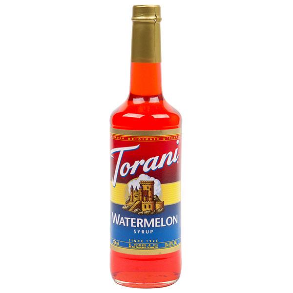 Watermelon Syrup From Torani (25.4 Oz 750 Ml)