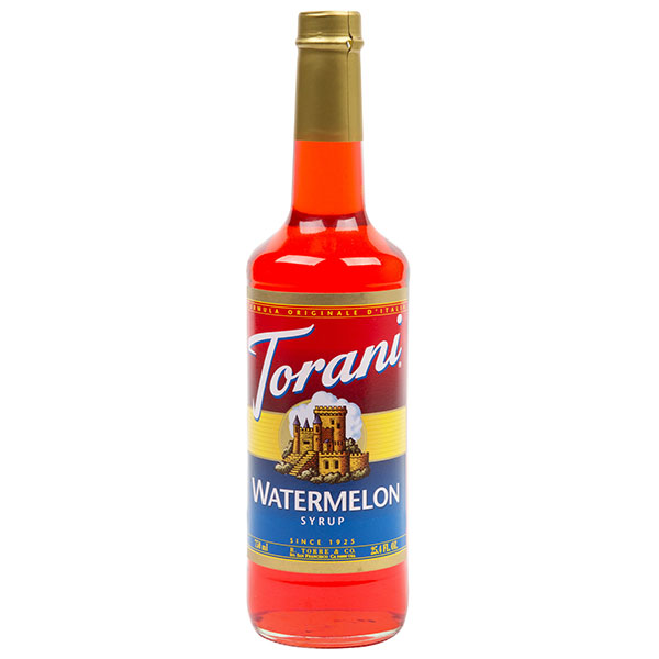 Watermelon Syrup From Torani (25.4 Oz 750 Ml)