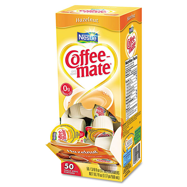 Coffee-mate Hazelnut Singles From Nestlé