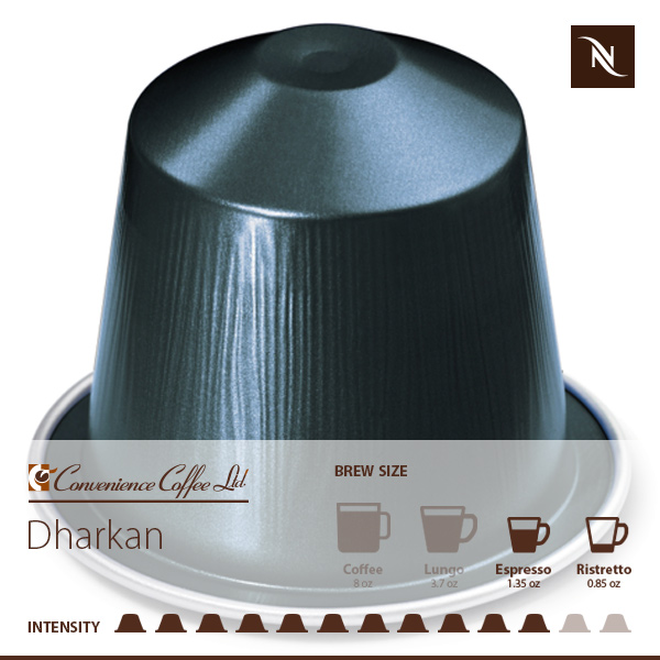 DHARKAN Capsules From Nespresso