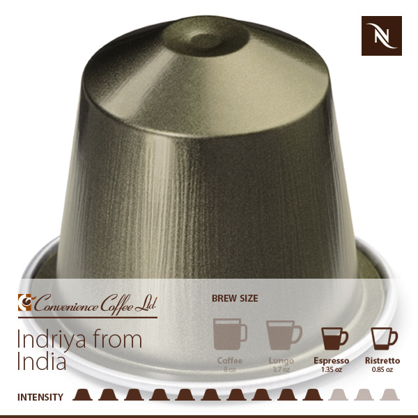 INDRIYA FROM INDIA Capsules From Nespresso