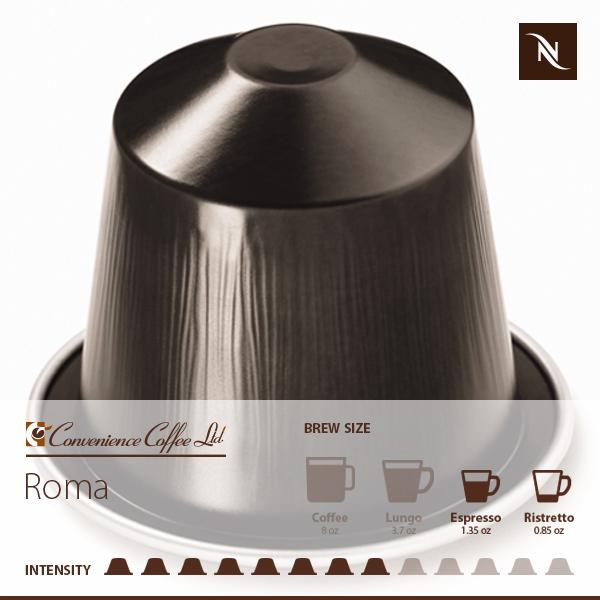 ROMA Capsules From Nespresso