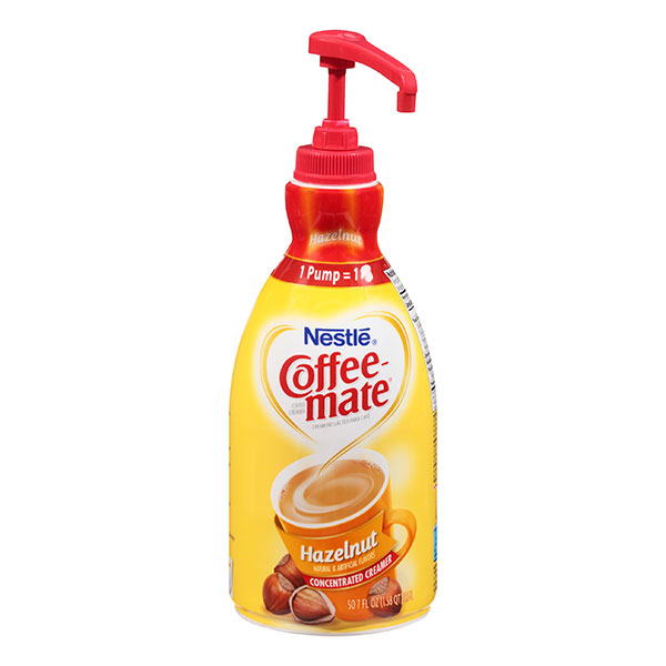 Coffee-mate Hazelnut (50.7 Oz Dispenser Pump) From Nestlé