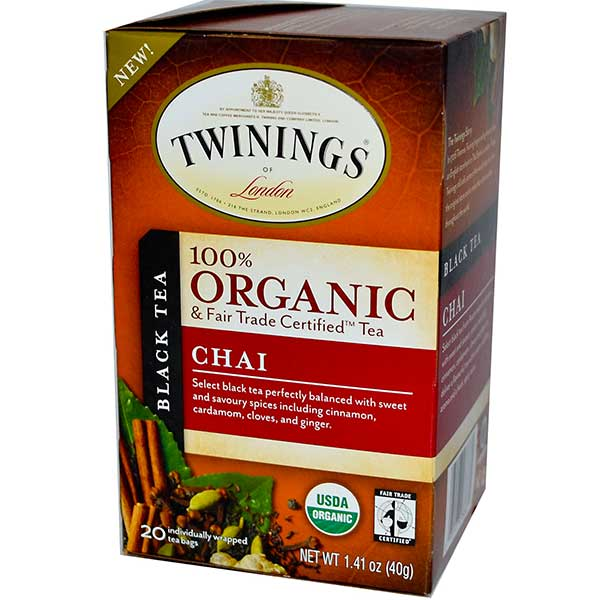 Chai Organic Tea Bags From Twinings