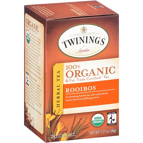 Rooibos South African Organic Tea Bags From Twinings