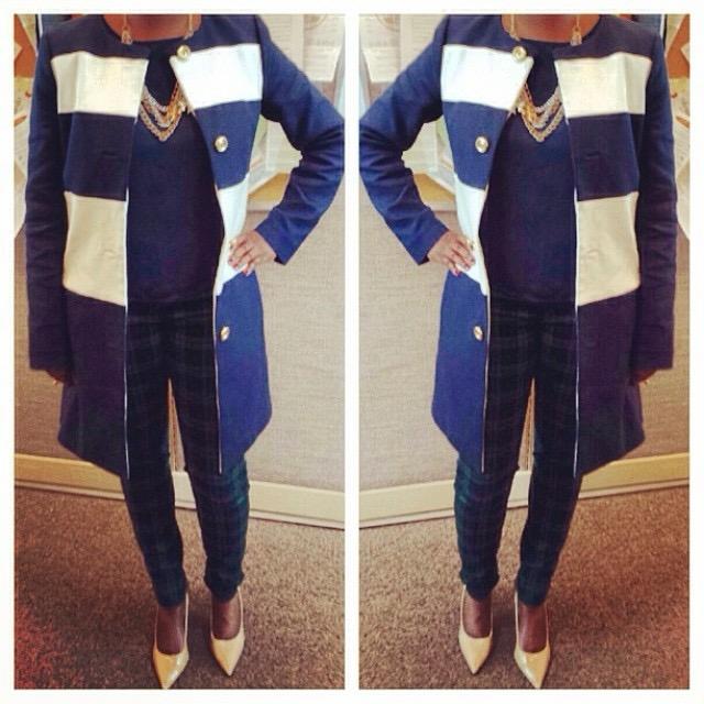 plaid pants style