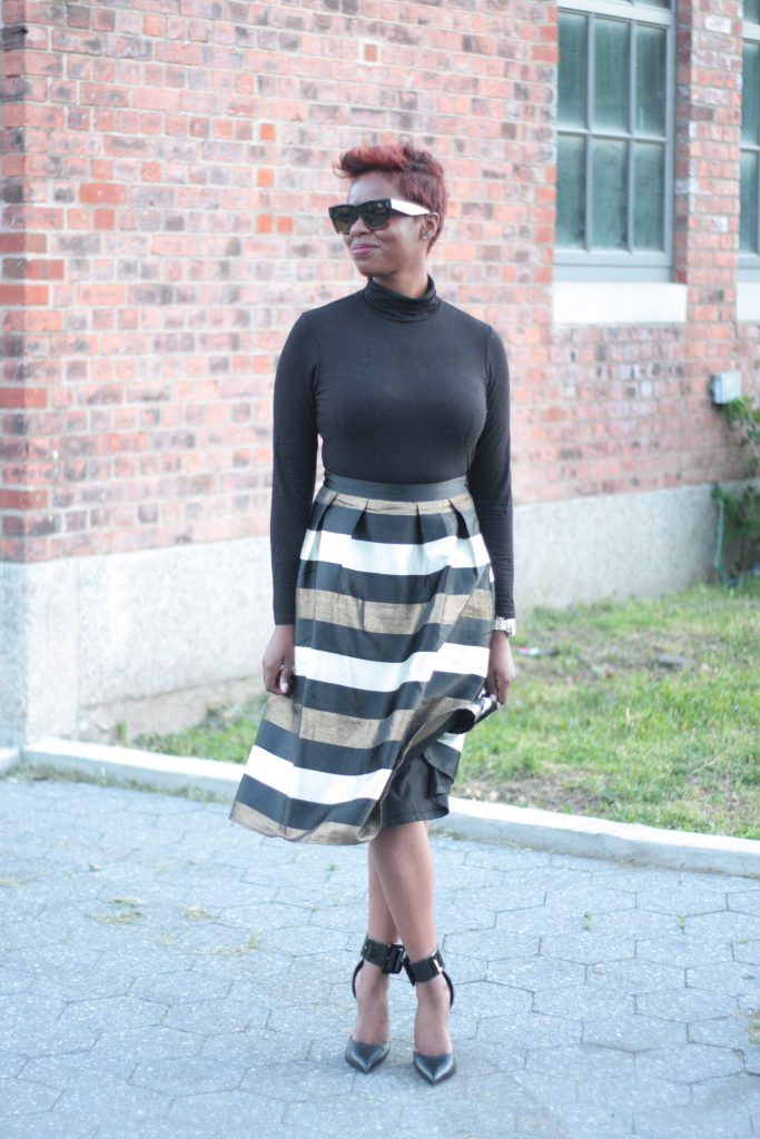 the glam room NYC fashion full skirt