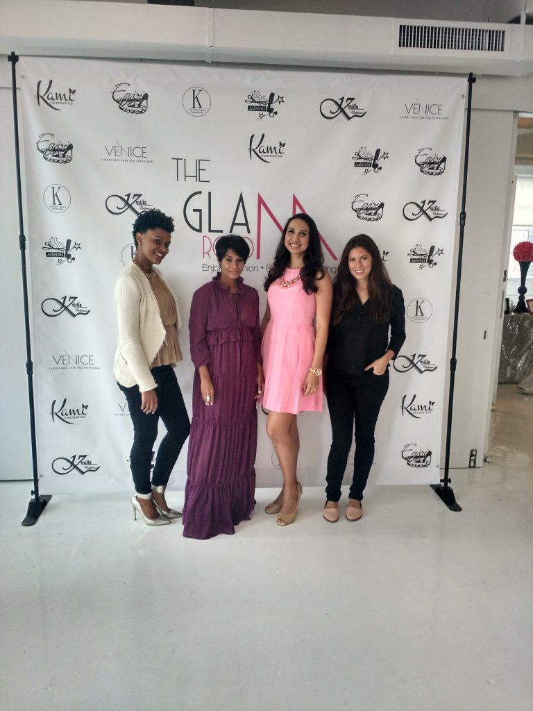 the glam room NYC fashion panel