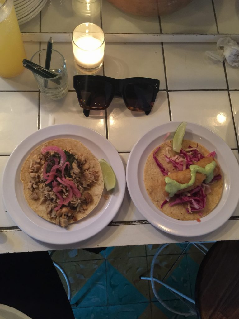 transatlantic tables opentable connected tacombi NYC food