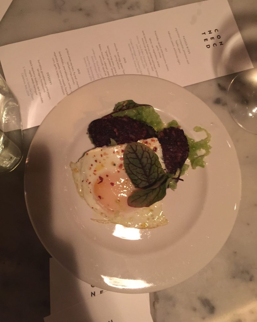 transatlantic tables opentable connected hundred acres dinner NYC food