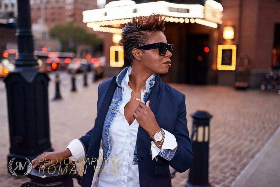 navy blazer denim jacket striped shirt white jeans summer 2016 fashion