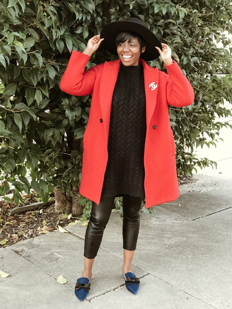 jcrew red coat Cocoa Butter Diaries San Francisco SF Bay Area fashion style blog blogger