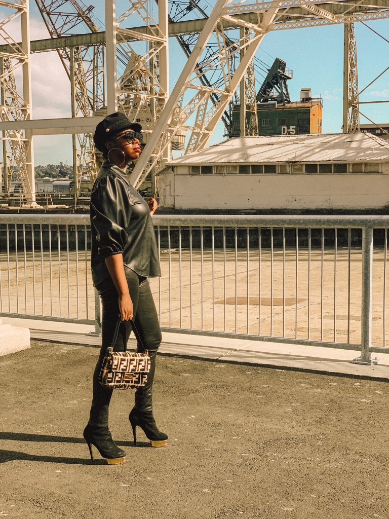 San Francisco style blogger Amber Richele of The Cocoa Butter Diaries discusses her current obsession with all things leather on the blog!