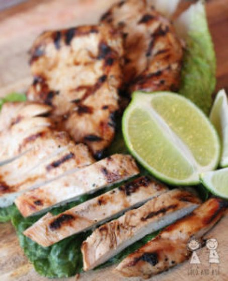 Soy garlic lime chicken marinade