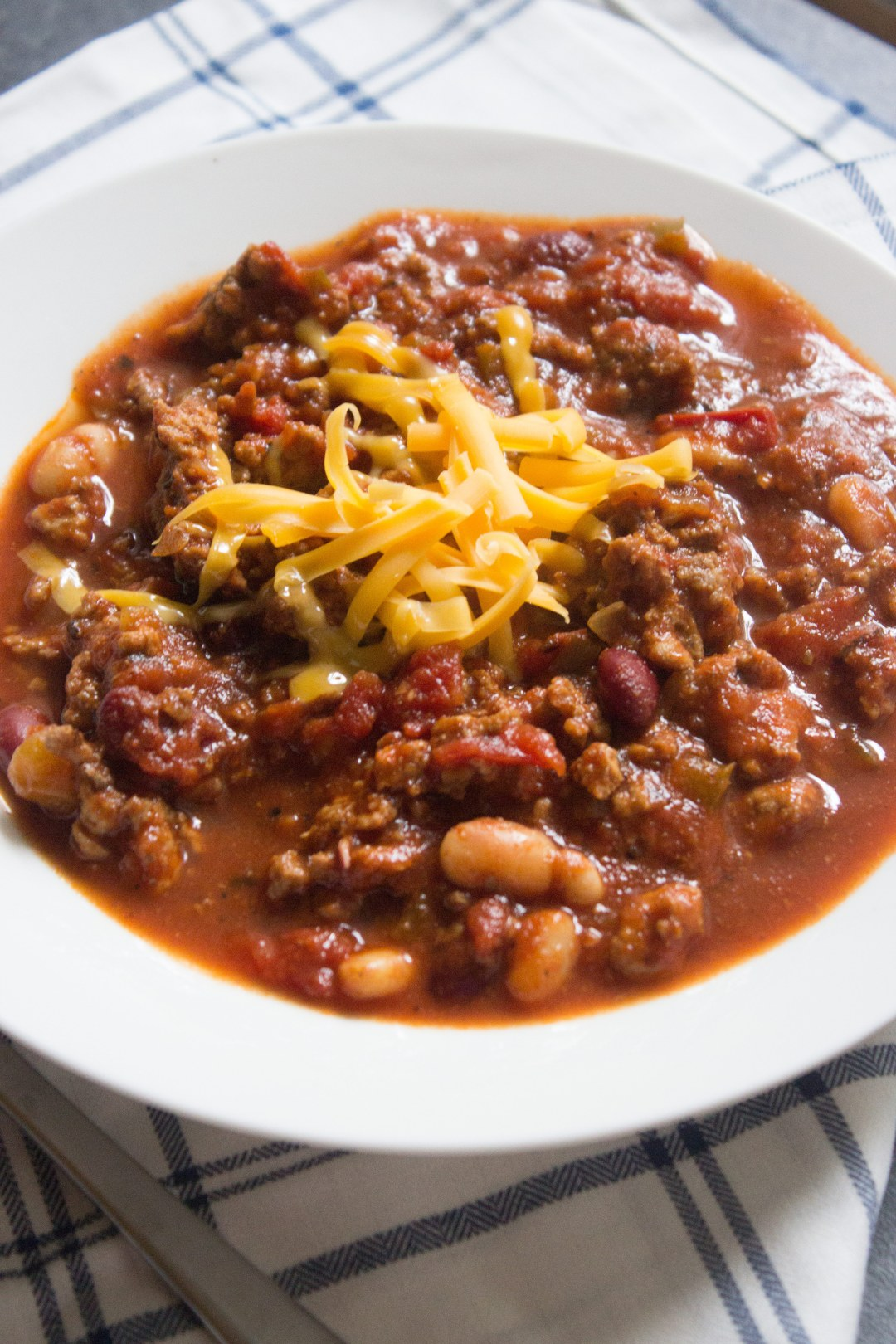 chili, classic chili, coco and ash chili, chili recipe, ground beef chili, ground turkey,