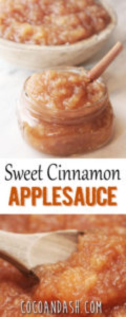 sweet cinnamon applesauce, cinnamon applesauce, applesauce recipe, cinnamon applesauce recipe,