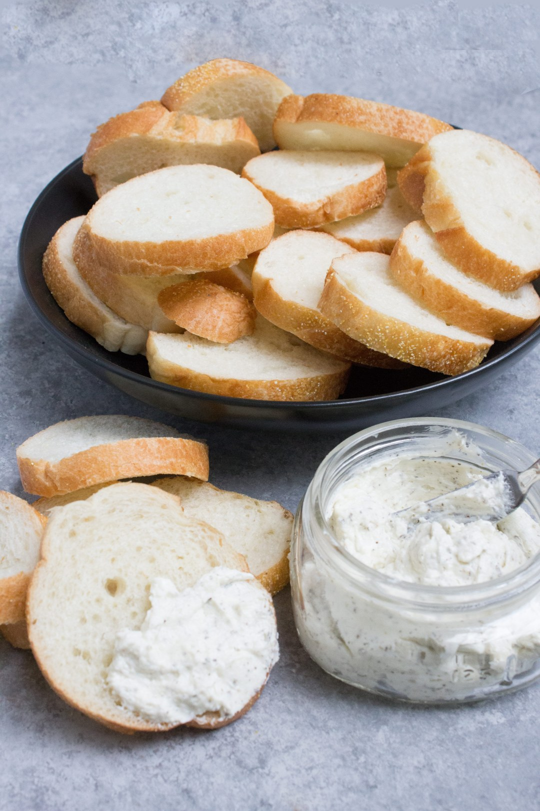 cream cheese, garlic butter, cream cheese garlic butter, sides, garlic, steak, bread, coco and ash,