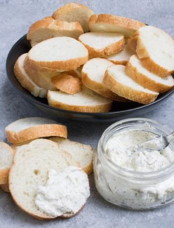 cream cheese, garlic butter, cream cheese garlic butter, sides, garlic, steak, bread, coco and ash,